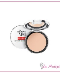 Pupa extreme matt powder foundation n° 010 Porcelain