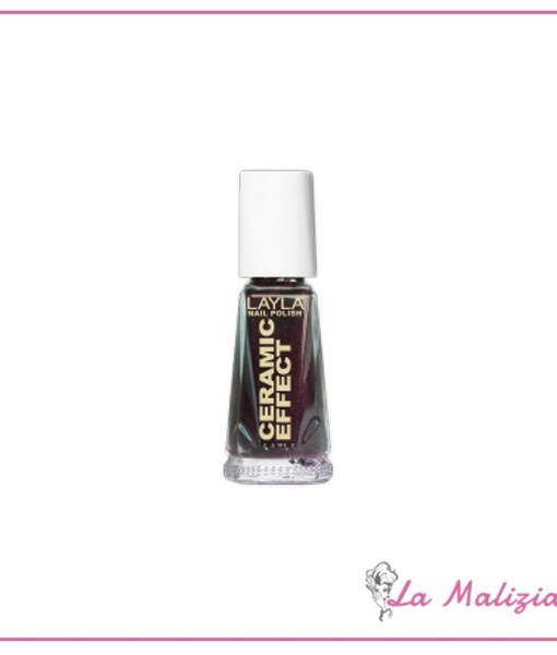 Layla smalto ceramic effect n° 30 Deep Bordeaux