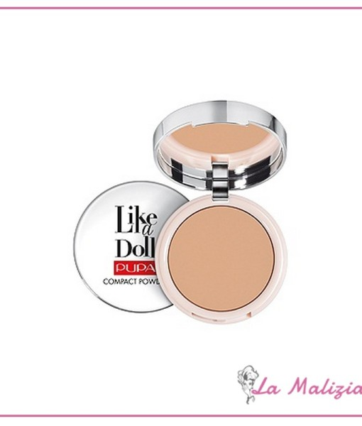 Pupa like a doll compact powder n° 005 Golden Honey
