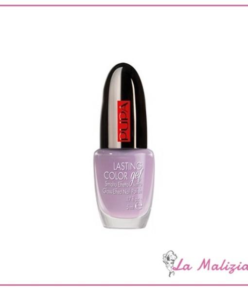 Pupa smalto effetto gel n° 107 Vintage Lilac