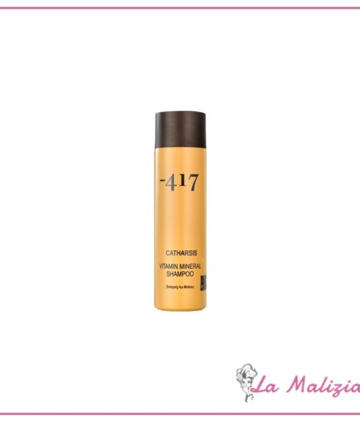 Linea -417 catharsis vitamin mineral shampoo