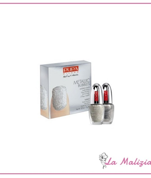 Pupa nail art kit metallic bubbles n° 002