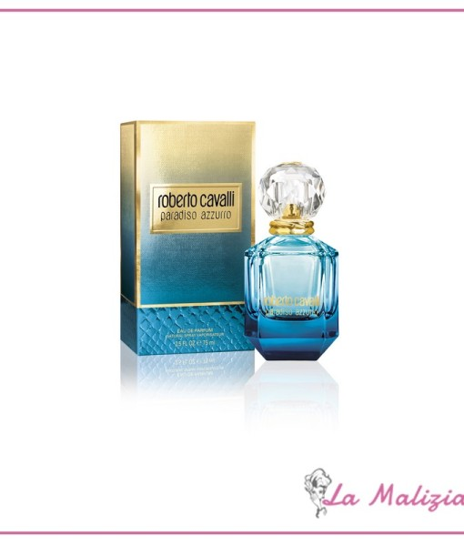 Roberto Cavalli paradiso azzurro edp 75 ml spray