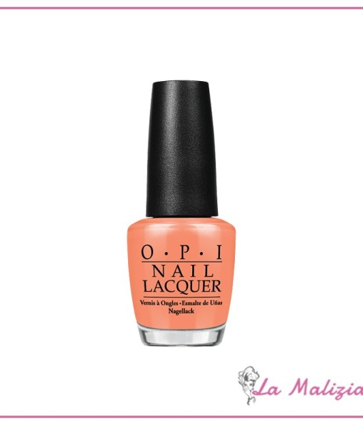 OPI smalto n° NL H68 Is Mai Tai Crooked