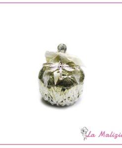 Biffoli talco profumato all'essenza di rosa bianca art.90126 gialla