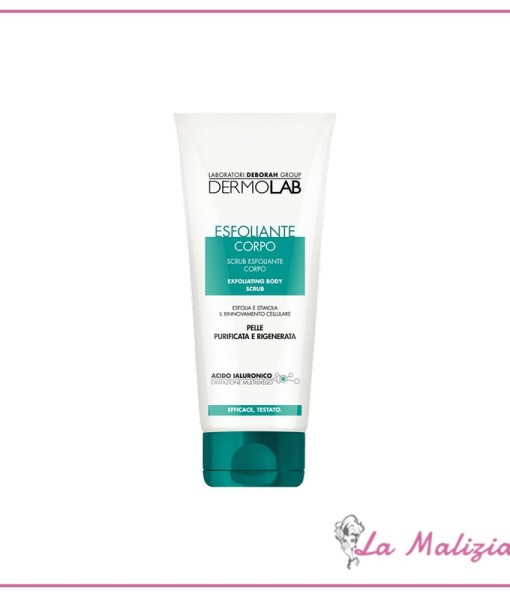 Dermolab scrub esfoliante corpo 200 ml