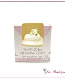 Rose & Co. Coconut Ice cupcake soap 120g
