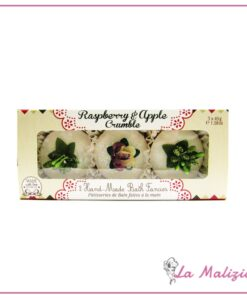 Rose & co Raspberry & Apple Crumble cupcake bagno 3  x 45 g