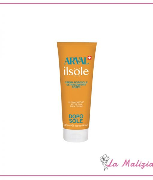 Arval Il Sole Crema Doposole Ultracomfort Corpo 200 ml