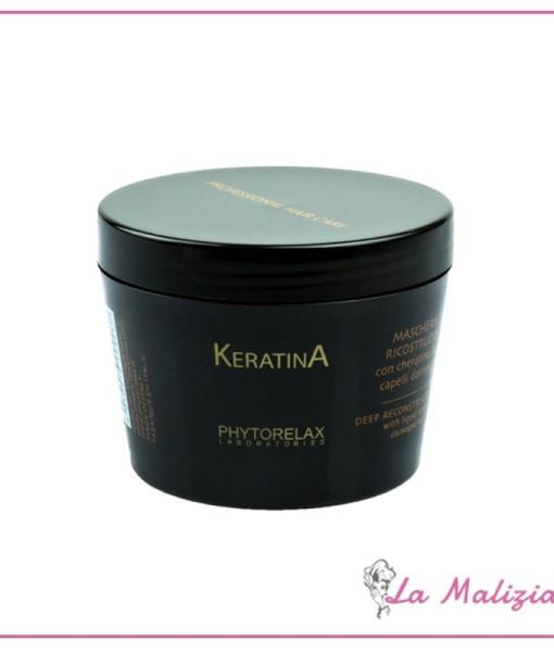 Phytorelax Keratina maschera di ricostruzione 200 ml