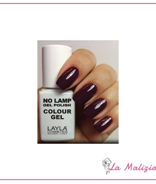Layla Gel Polish No Lamp n° 10 Purple Dance