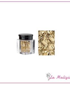 Nails kim foglia in oro puro