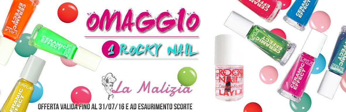 La Malizia Profumeria Ferrara promo Layla rocky nail