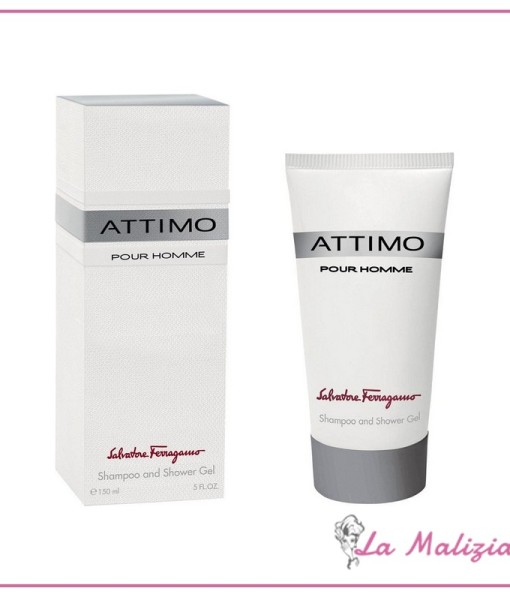 Ferragamo Attimo pour homme shampoo and shower gel 150 ml
