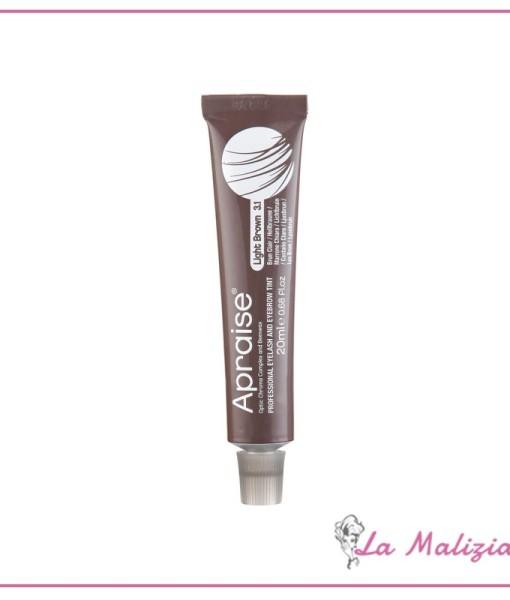 Apraise colorazione professionale per ciglia & sopracciglia n° 3.1 Light Brown