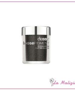 Debby Loose Pigment eyeshadow glitter black