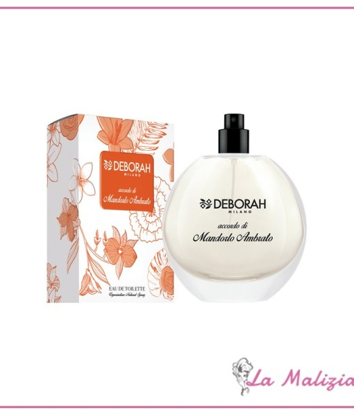 Deborah Fragrances accordo di Mandorlo Ambrato edt 100 ml spray