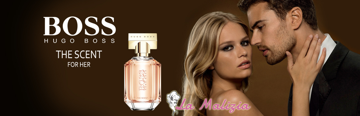 La Malizia Ferrara Profumeria Boss the Scent for her