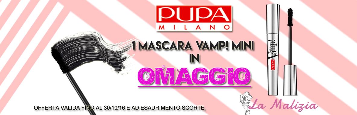 La Malizia Profumeria Ferrara promo mascara Vamp!