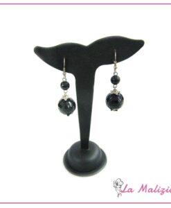 Orecchini Glamorous in Black art.5551