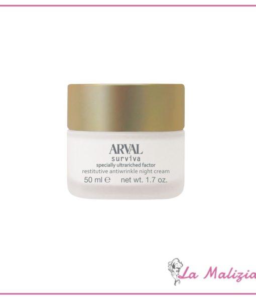 arval-surviva-specially-ultrariched-factor-crema-notte-restitutiva-antirughe-50-ml