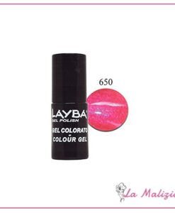 Layla Layba smalto gel polish n° 650 Shoking Ping