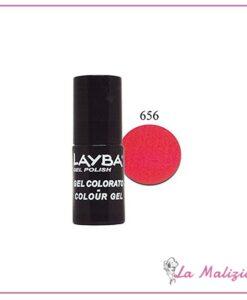 Layla Layba smalto gel polish n° 656 Noisy Red