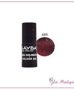 Layla Layba smalto gel polish n° 689 Deep Red