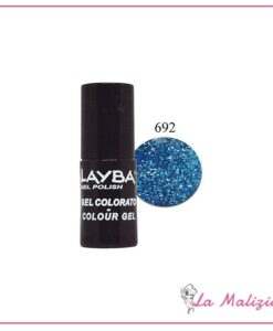 Layla Layba smalto gel polish n° 692 Blue Glitter