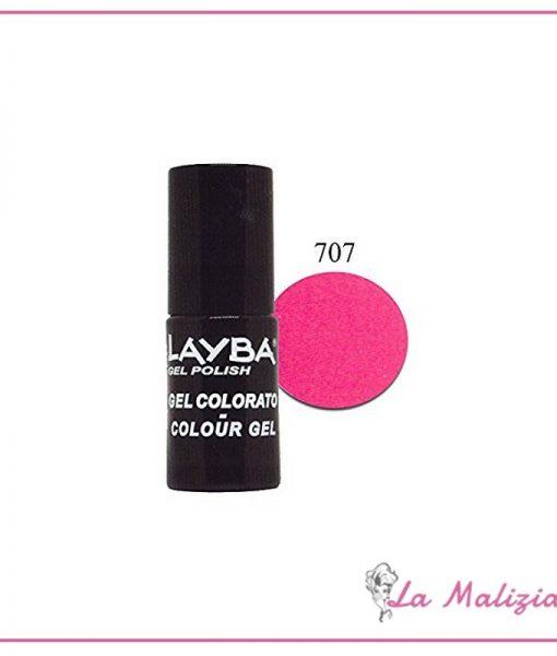 Layla Layba smalto gel polish n° 707 Pink Fluo