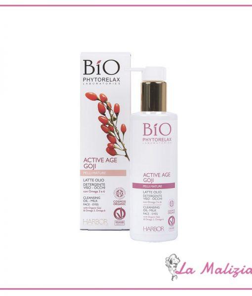 Phytorelax Bio Active Age Goji latte olio-detergente 200 ml