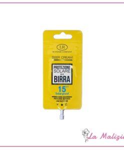 Beer Cream Protezione Solare alla Birra spf 15 15 ml