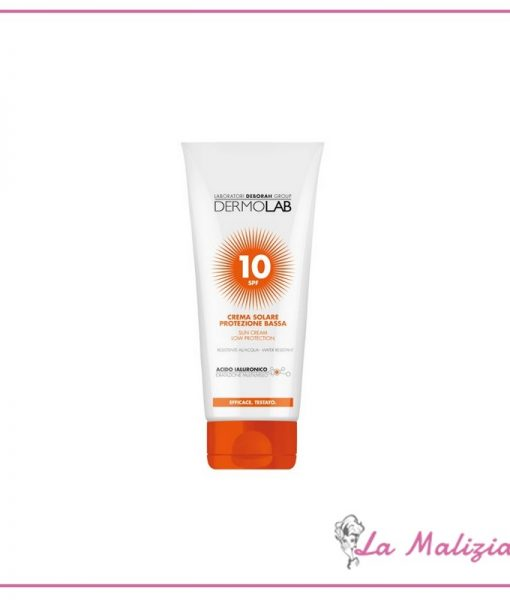 Dermolab Crema Solare spf 10 200 ml