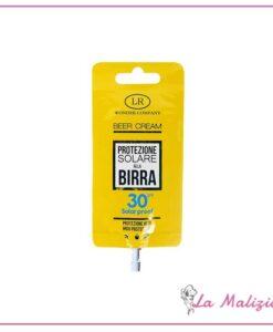 LR Wonder Company Beer Cream Protezione Solare alla Birra spf 30 15 ml