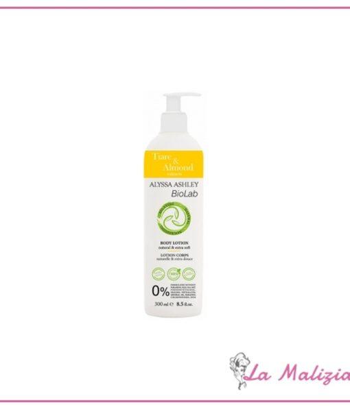 Alyssa Ashley BioLab Tiaree & Almond body lotion 300 ml