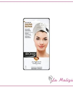 Iroha Sauna Repair cuffia maschera riparatrice - Argan