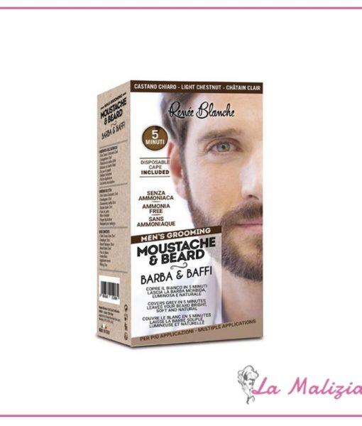 Renée Blanche colorazione Men's Grooming Castano Chiaro