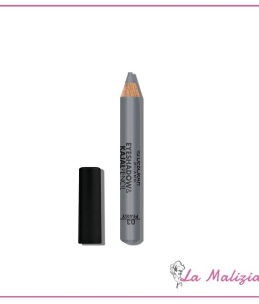 Deborah Eyeshadow&Kajal pencil n° 03 Silver Finish Pearly
