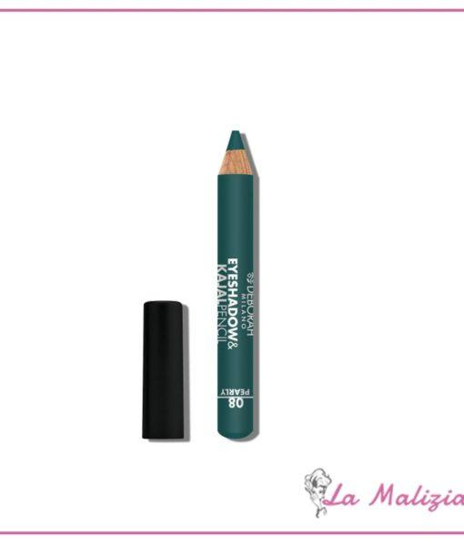 Deborah Eyeshadow&Kajal pencil n° 08 Teal Green Pearly
