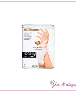 Iroha guanti maschera nutritiva per mani e unghie - argan