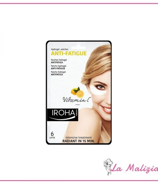 Iroha patchs hydrogel antifatica contorno occhi – Vitamina C