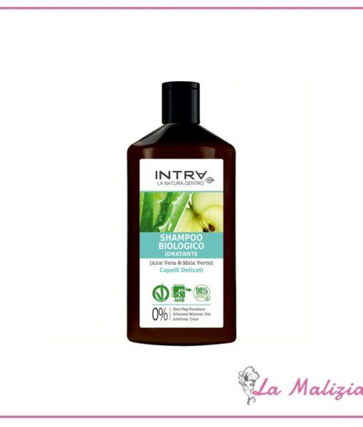 Intra Shampoo Biologico Idratante Capelli Delicati 250 ml