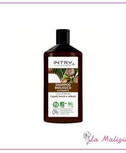 Intra Shampoo Biologico Nutriente Capelli Secchi e Sfibrati 250 ml