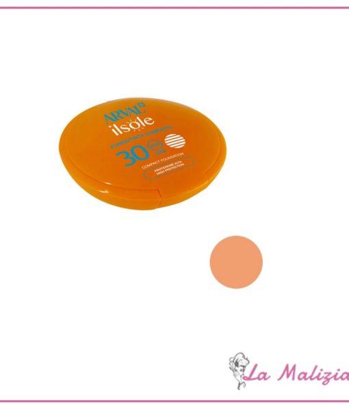 Arval Il Sole Fondotinta Compatto spf 30 n° 02