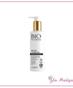 Phytorelax Bio Detox Charcoal detergente viso 200 ml