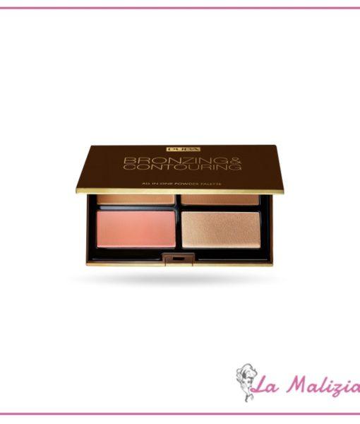 Pupa palette Bronzing & Contouring n° 002 Medium Skin