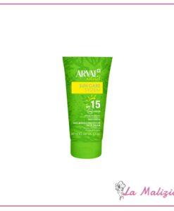 Arval Natural Sun Care System crema protettiva antirughe viso spf 15 50 ml