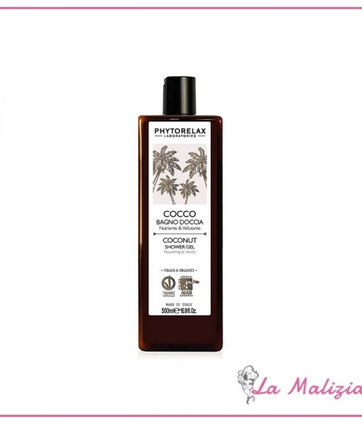 Phytorelax Cocco bagno & doccia nutriente & vellutante 500 ml