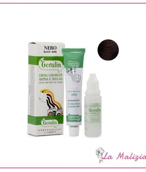 Goralin Crema Colorante Rapida e Delicata 30 ml Nero