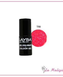 Layla Layba smalto gel polish n° 750 Crazy Pink Fluo